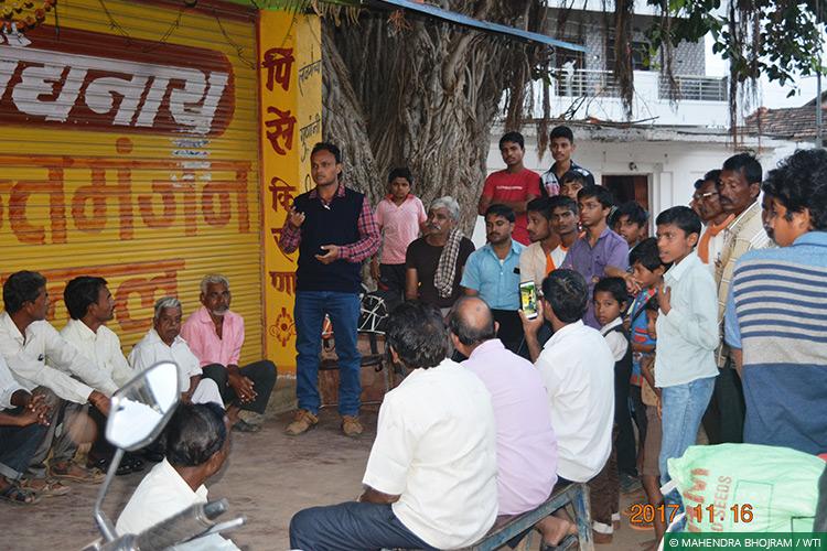 Maharashtra, Vidarbha Tiger Project, Conflict Mitigation, Communities, Langurs, Human-Monkey Conflict