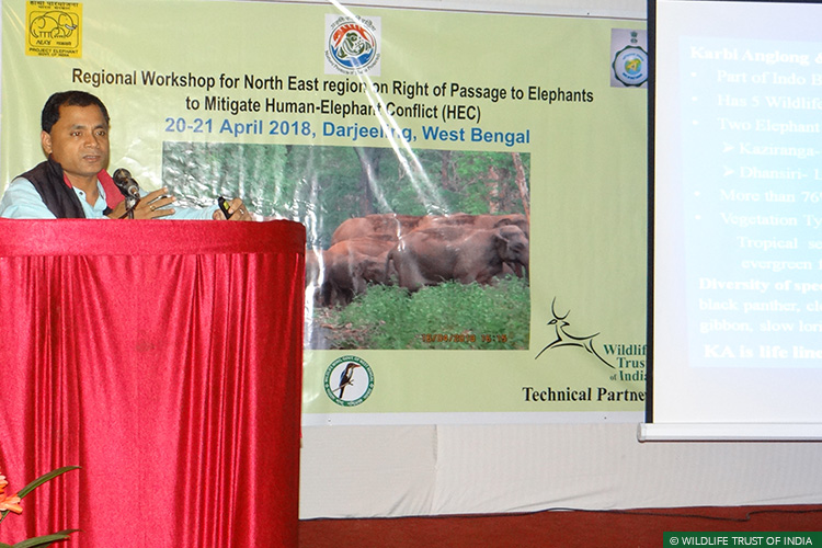 Right of Passage, 101 Corridors, West Bengal, North-East India, Technical Workshop, MoEF & CC, Elephant Corridors, Asian Elephants, Elephants