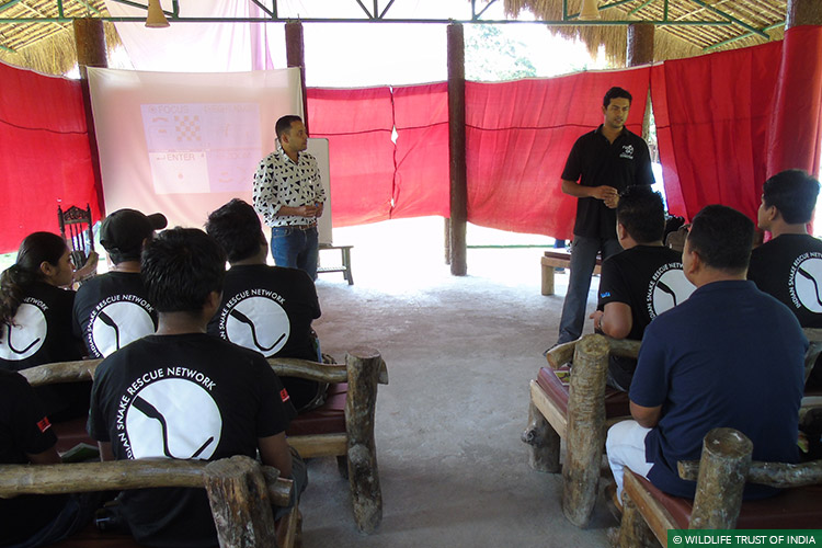 Assam, Manas National Park, Emergency Relief Network, Human Wildlife Conflict, Human Snake Conflict, Training Workshops